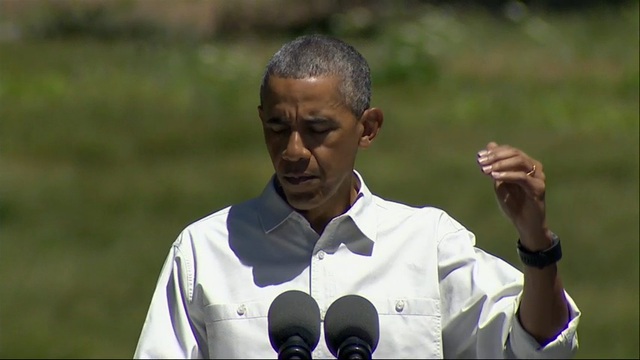 Obama Talks Climate Change at Yosemite