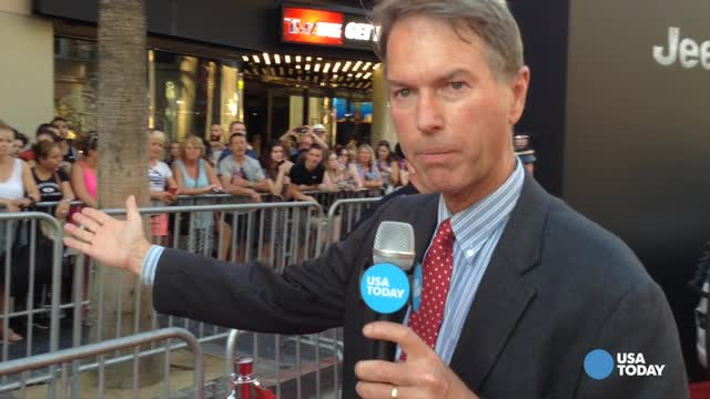 USA TODAY's Chris Woodyard reports from a red carpet premiere of the Independence Day sequel. Video by Kimiya Manoochehri