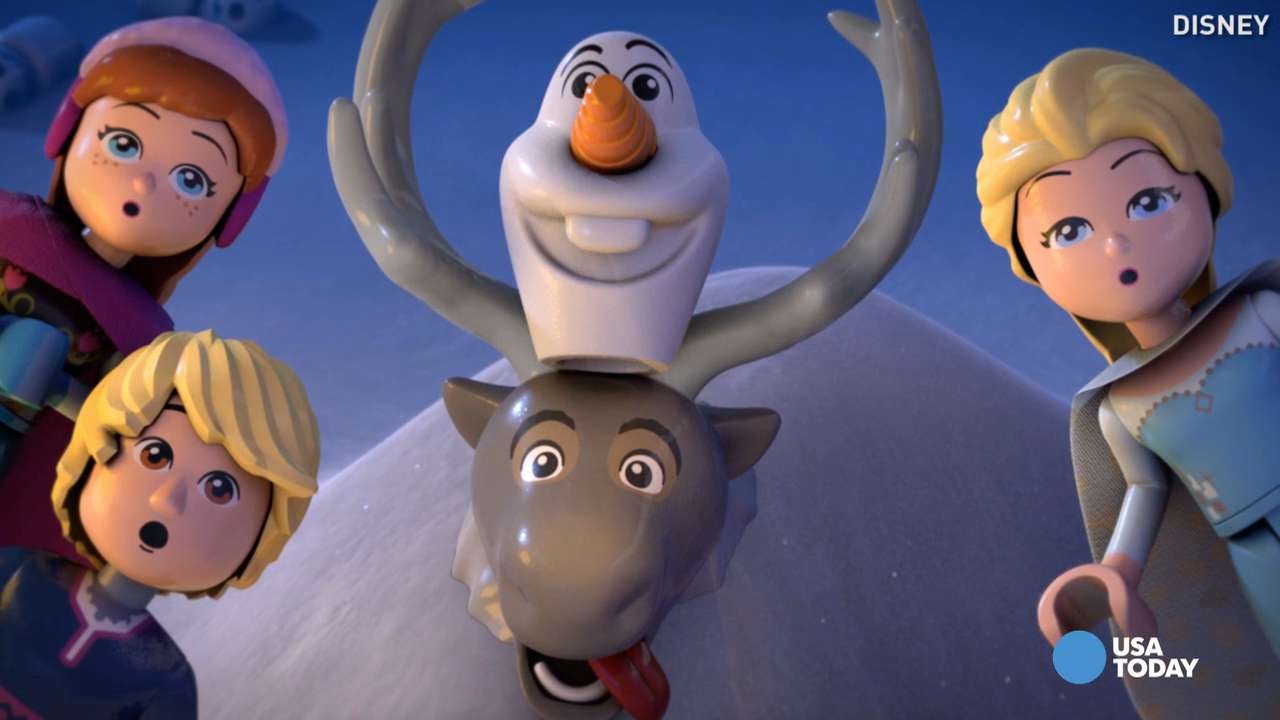 Josh Gad 'so excited' about new 'Frozen Northern Lights'