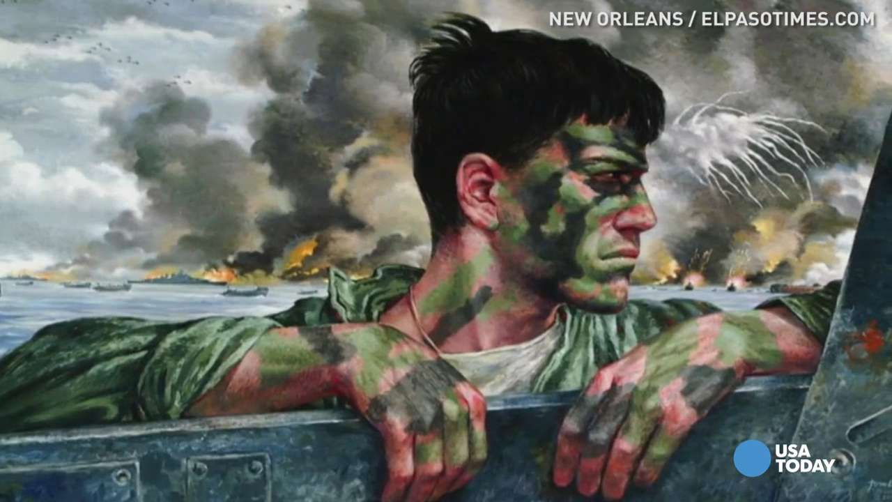 World War II Museum Showcases Tom Leas Powerful Images - World war ii museums in usa