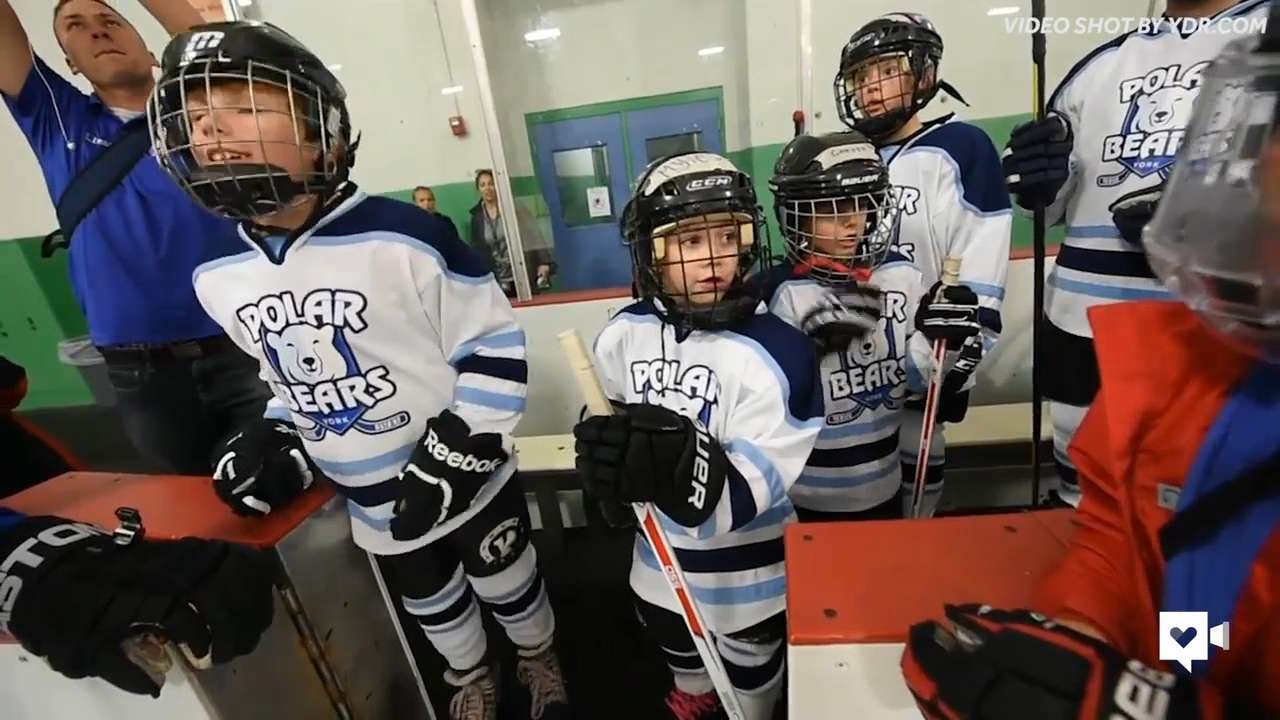 Veteran's mission to inspire special needs kids with hockey