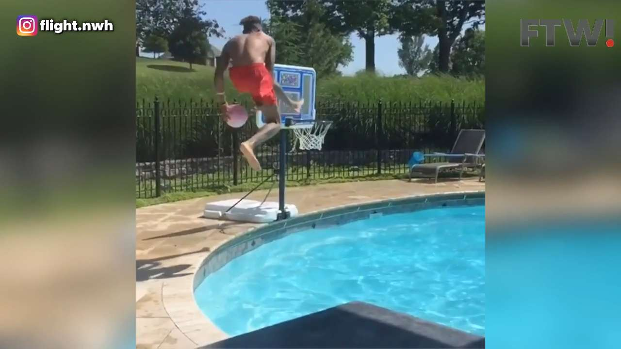 Pool dunk of the year?
