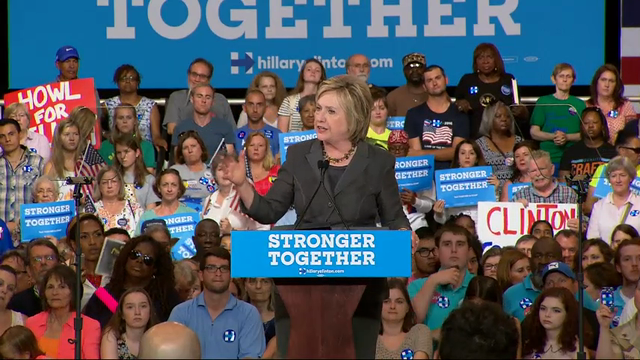 Clinton: 'I Have Clear Vision for the Economy'