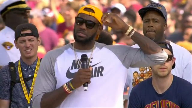 LeBron James: Cleveland Title Hasn't Sunk in Yet