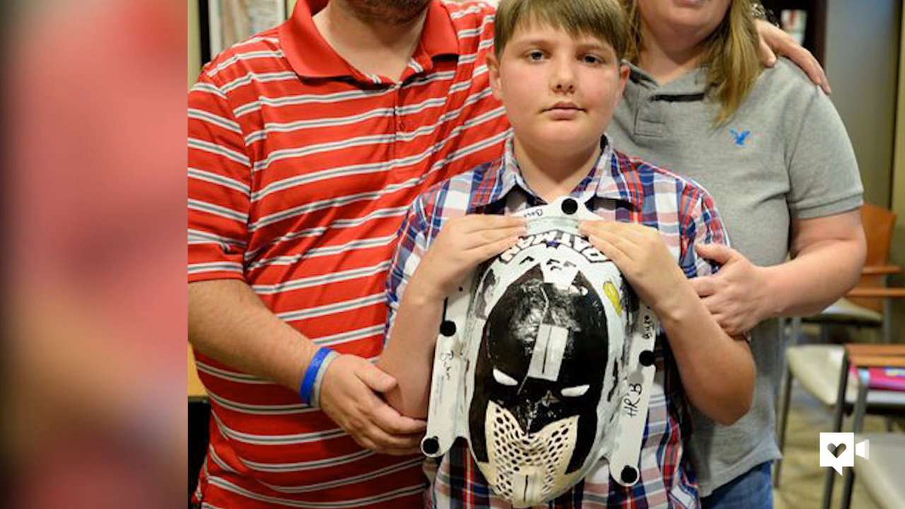 Special masks help kids be brave in tough times