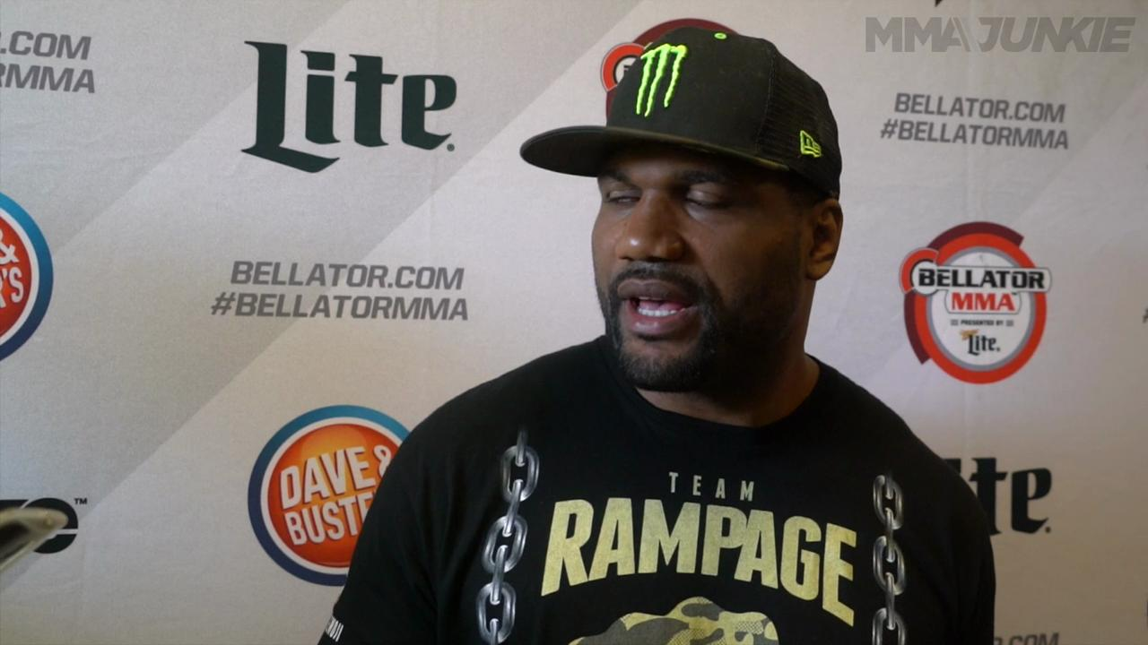 Stuff Quinton Rampage Jackson says ahead of Bellator 157