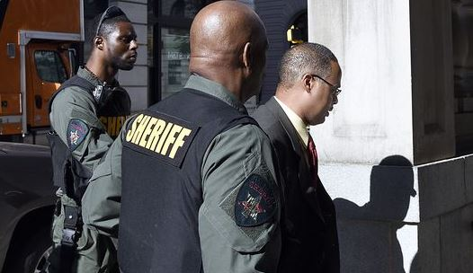 A Baltimore judge found a police officer, Caesar Goodson, not guilty of second-degree murder in the death of Freddie Gray. Officer Goodson drove the police van Gray was detained in after his arrest.