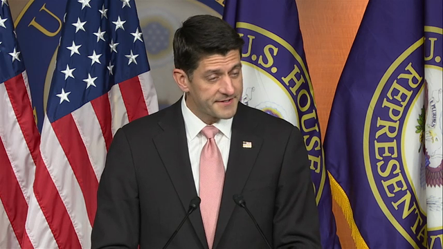 Ryan: Not Going to Allow 'Stunts' to Stop Us
