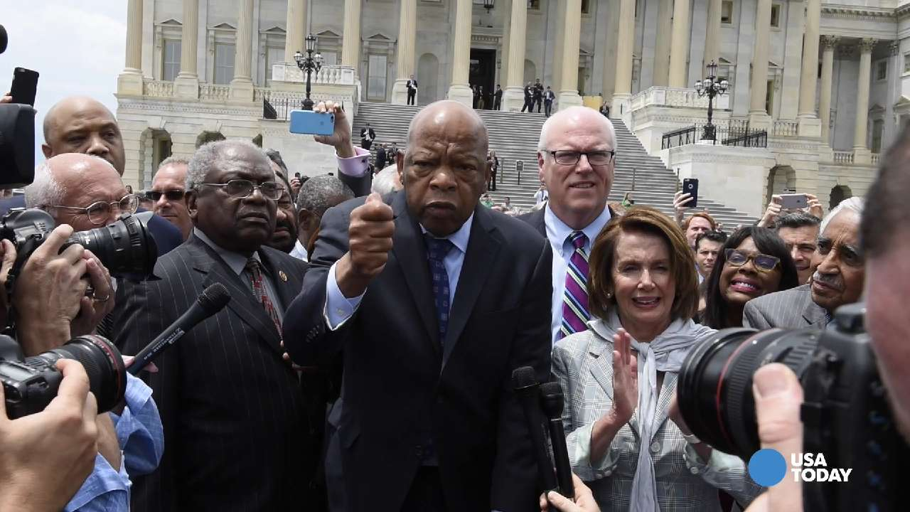 House Democrats ended their sit-in on the floor of the House Thursday after more than 24-hours of chants and speeches advocating for stricter gun control measures.
