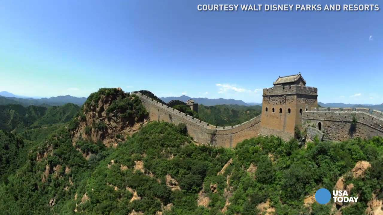 Disney's Soarin' Around the World takes you to new heights