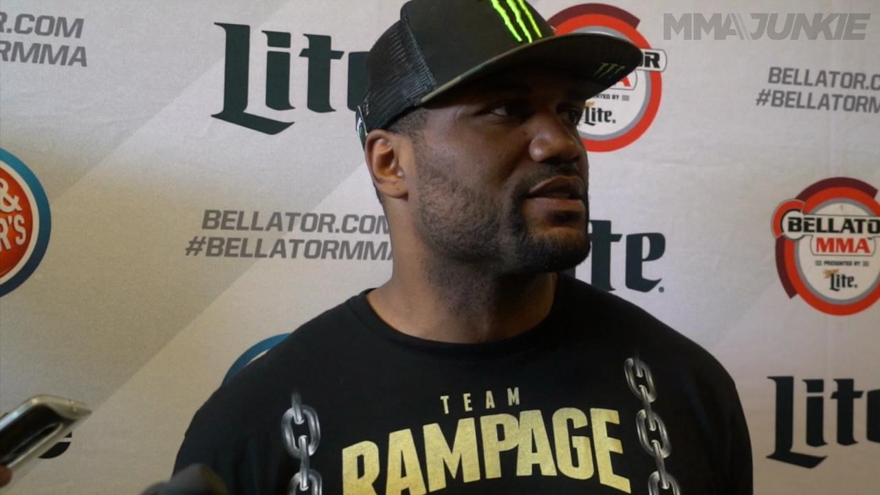 Legal wrangling behind him, 'Rampage' finally feeling happy before Bellator 157