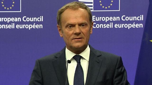 Tusk warns against 'hysterical' reactions after Brexit