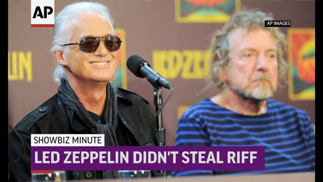 Chicago police advised to be on lookout for Sinead O'Connor; Led Zeppelin rocks copyright case over 'Stairway'; $6M donated for 100K children in US to see \u0022Hamilton\u0022. (June 24)