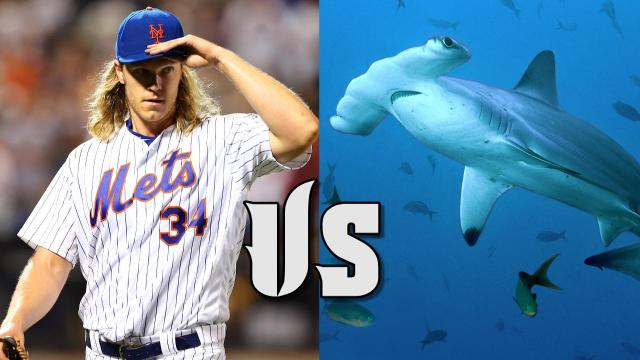Ever wonder if an athlete could beat a shark? In our new, random game, Athlete vs. Shark, Philippe Cousteau, grandson of the legendary underwater explorer Jacques Cousteau, and his wife Ashlan debate which ballplayers could beat a shark.