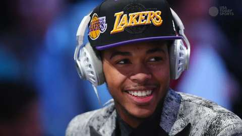 USA TODAY Sports' Scott Gleeson breaks down the game of the Lakers' first round pick.