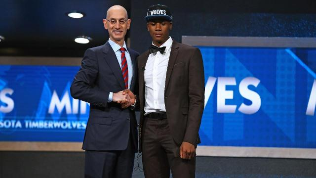 The Minnesota Timberwolves tried to trade Kris Dunn after selecting him with the fifth pick of Thursday's NBA draft, but their trade offer for Jimmy Butler was rejected by the Bulls, ESPN's Marc Stein reports.