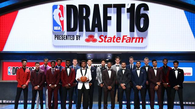 We take a look back at the biggest moments from the 2016 NBA Draft including an NBA-record 14 foreign-born players drafted in the first round.