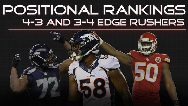 SI.com is ranking the 3-4 and 4-3 edge rushers of the NFL to see who is best at the position, who just missed our list, and the young star to keep your eye on.