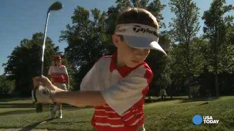 PGA Junior League Golf has grown immensely over the last half-decade. Corrections and Clarifications: An earlier version of this video contained incorrect spellings of the names of Mike Aldrich and Stacy Miller-Arndt.