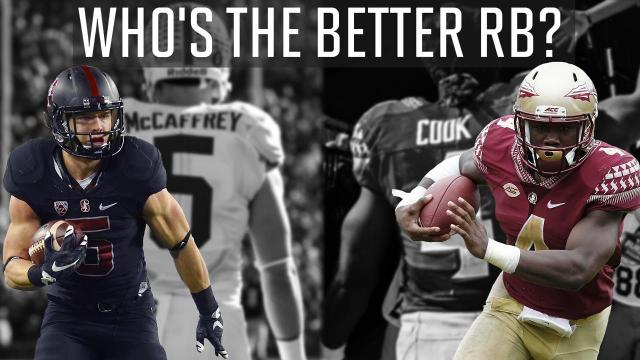 Sports Illustrated's Chris Johnson and Colin Becht debate which player they believe will have a better 2016 college football season: Stanford Cardinals' Christian McCaffrey or Florida State Seminoles' Dalvin Cook.
