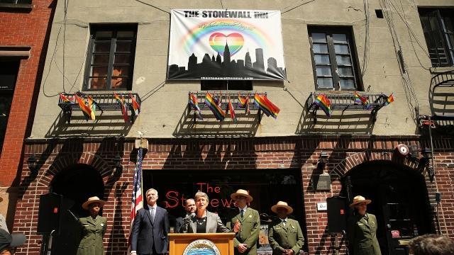 President Barack Obama announced Friday that New York City's Stonewall Inn is now a national monument.Video provided by Newsy