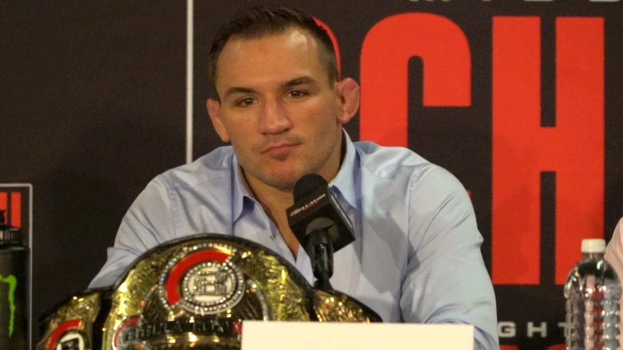 Michael Chandler discusses his lightweight title win at Bellator 157