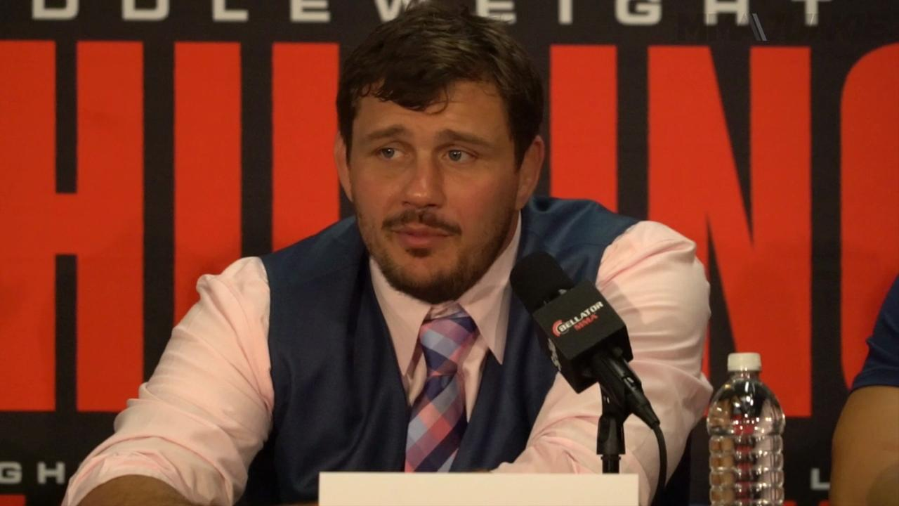 Matt Mitrione talks about his comeback KO win at Bellator 157