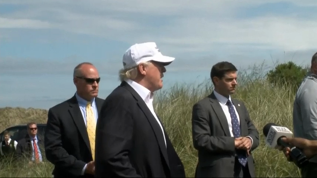 On Golf Tour, Trump Says UK Will be Successful