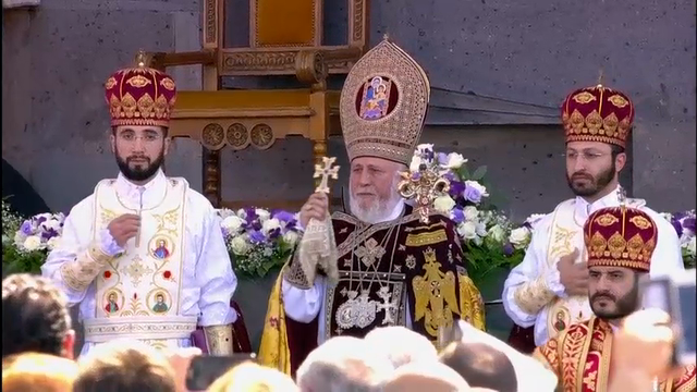 Armenia Thanks Pope for 'Brotherly Visit'