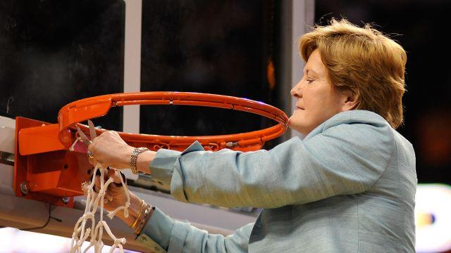 Pat Summitt through the years
