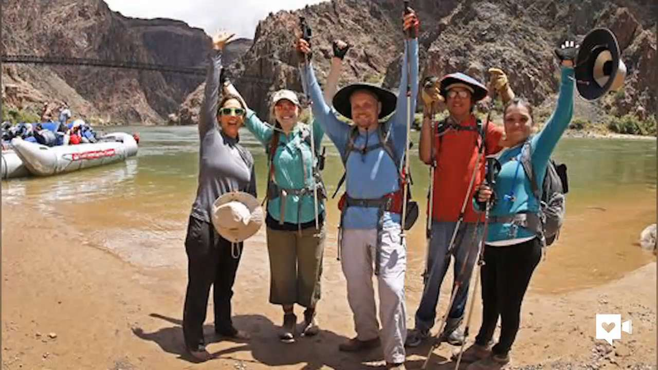 Blind woman conquers tough Grand Canyon hike