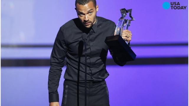 Jesse Williams, known for his role in Grey's Anatomy, accepted the humanitarian award at the BET Awards, demanding equal rights and an end to the unfair treatment against blacks and an end to the white appropriation of black culture.