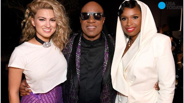 Stevie Wonder, Jennifer Hudson, and Tori Kelly honor Prince