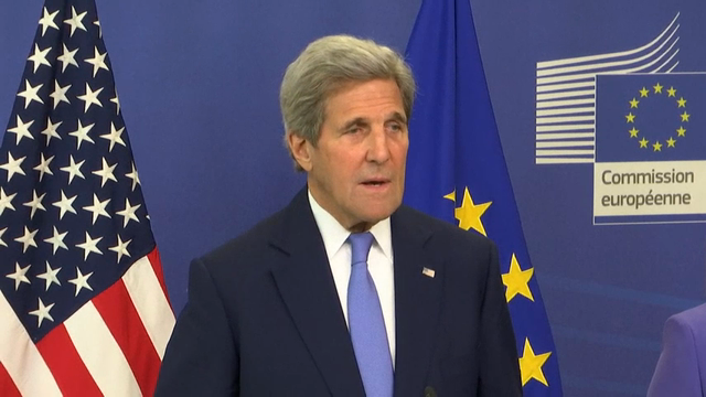 Kerry: EU Vote Not What U.S. Had Hoped
