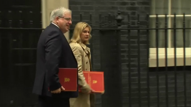 Raw: UK Cabinet Meets After Referendum Vote