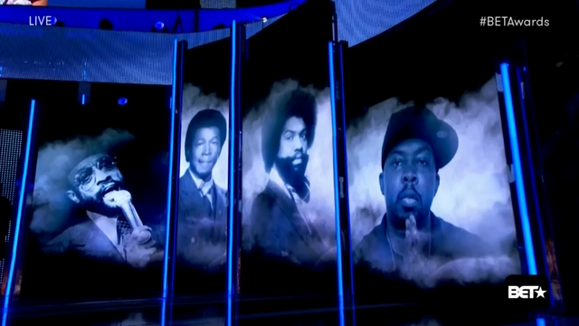 Prince, Ali rememebered at the BET Awards