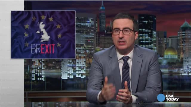 Late-night comics take a look at the UK's vote to exit the European Union. Watch our favorite jokes, then vote for yours at opinion.usatoday.com.