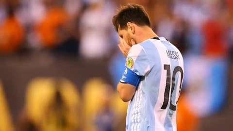 Lionel Messi retires from international soccer