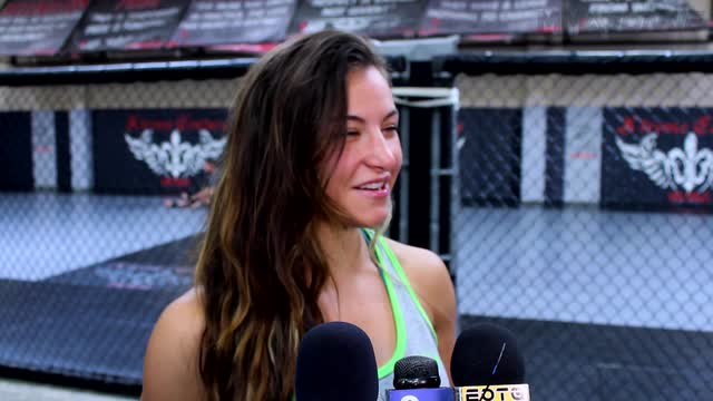 UFC women's bantamweight champ Miesha Tate prepping for  Amanda Nunes ahead of UFC 200