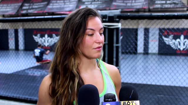 UFC 200's Miesha Tate talks Cyborg and Rousey