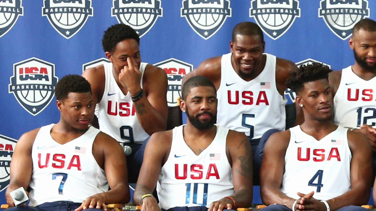 NBA stars eager to represent USA