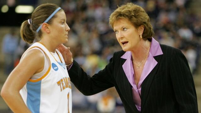 The former Lady Vols coach stepped down in 2012 after being diagnosed with dementia.Video provided by Newsy