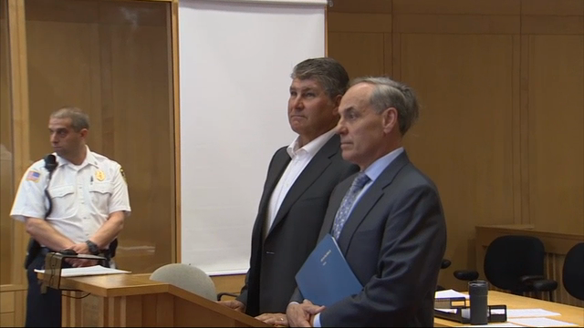 Raw: Bruins Bourque Pleads Not Guilty to DWI