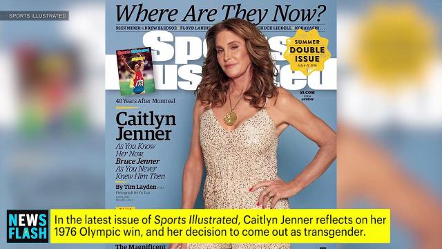Caitlyn Jenner looks back on Olympic gold in Sports Illustrated