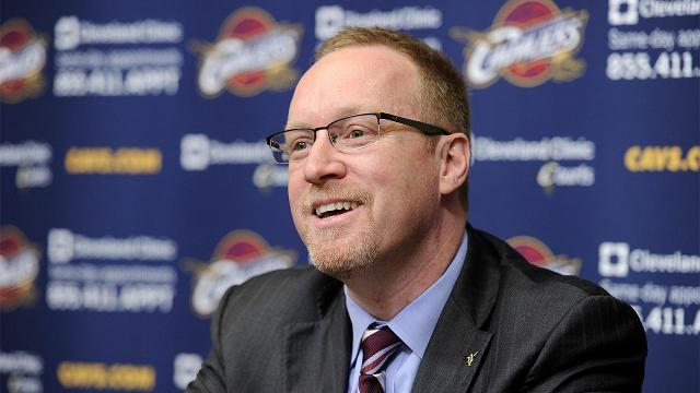 After his team claimed the first NBA title in franchise history, Cleveland Cavaliers general manager does not plan to make any major changes to the team's roster.