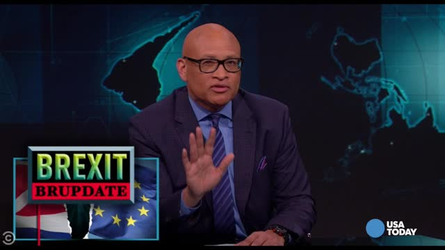 The late-night comics use Brexit to show what could happen if the country goes the way of Trump. Take a look at our favorite jokes, then vote for yours at opinion.usatoday.com.