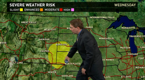 Wednesday's forecast: Storms bring severe weather to Plains