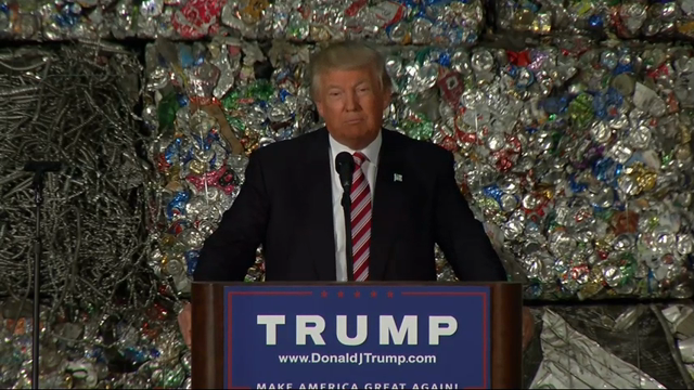 Trump Goes After Trade Deals in Pa. Speech