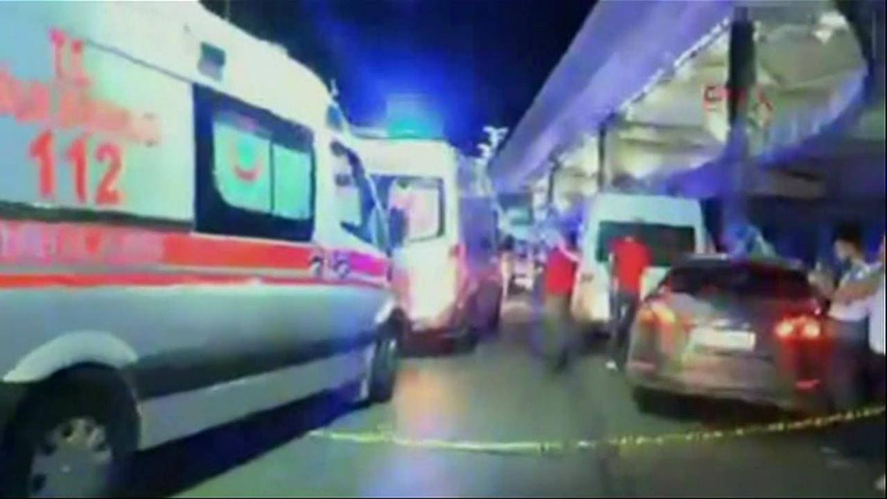 Raw: 2 blasts at Istanbul airport kill 10