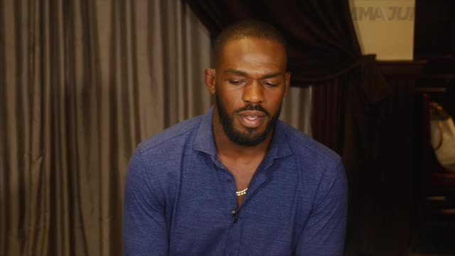 Jon Jones full media scrum ahead of UFC 200 - June 28, 2016